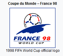 1998 FIFA World Cup official logo