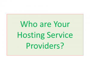 image - Hosting service providers
