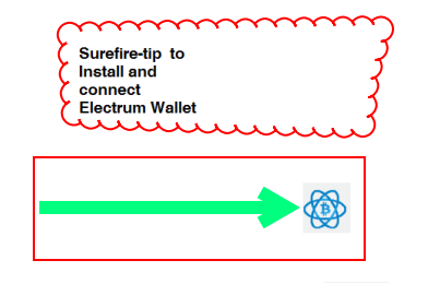 how to connect electrum wallet to network